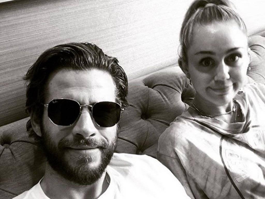 Instagram: Miley Cyrus grita del susto por broma de Liam Hemsworth ...