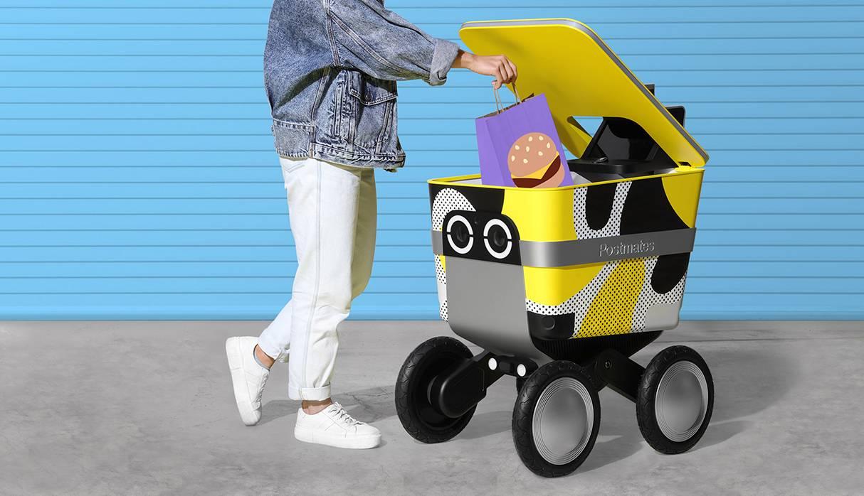 USA: Empresa planea lanzar robot para hacer 'delivery