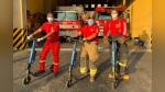 Personal que cumple labores durante la emergencia recibe scooters de manera gratuita para facilitar su traslado - Noticias de la molina